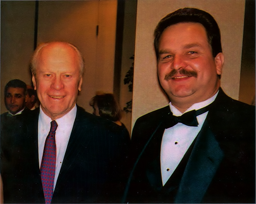 President Ford and Ed
